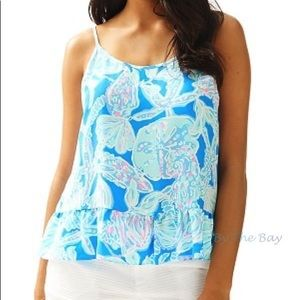 Lilly Pulitzer Into The Deep Cora top
